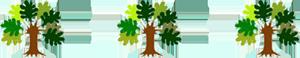 エンパワメント・センターのツリー3本ミニ