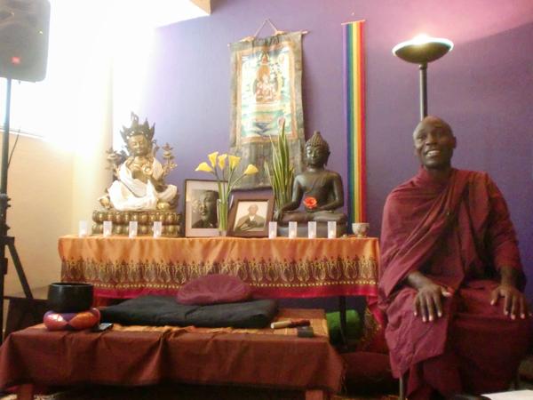 ウガンダの仏教僧バンテ・ブッダラキータの法話