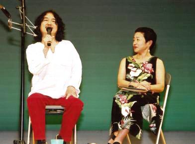 ミニトーク:朴保+森田ゆり